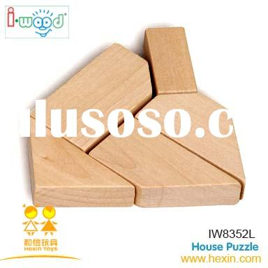 House Puzzle (wooden games,wooden puzzle,china wooden toys)