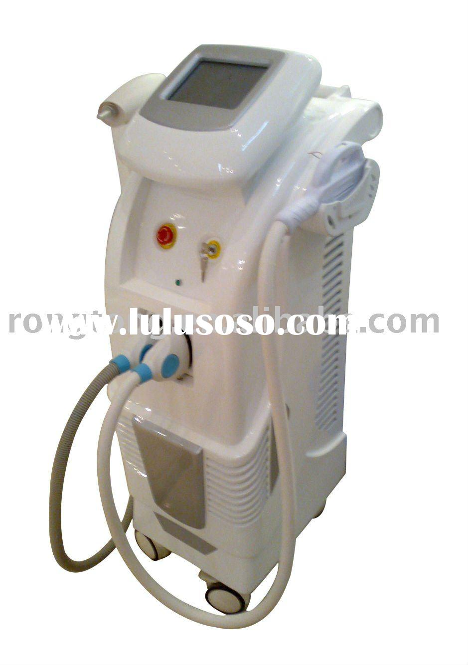 IPL hair removal and laser tattoo removal system