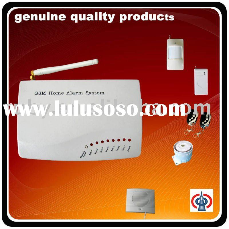 LED home gsm alarm system with two way-voice communication