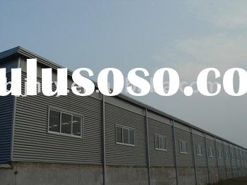 Light Steel Structure Galvanized Prefabricated Building