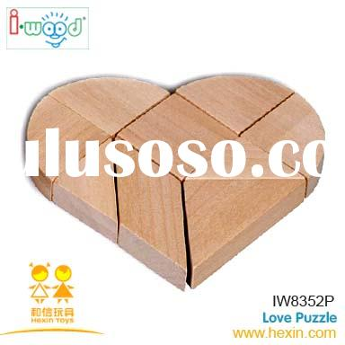 Love Puzzle ( games,wooden puzzle,game player)