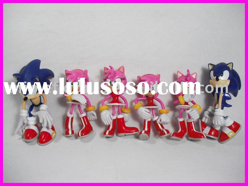 Sonic cartoon action figures