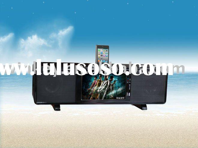 Sound bar speakers with Ipod docking