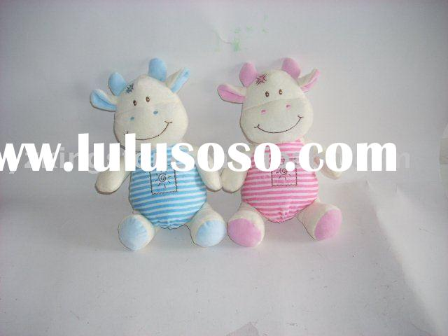 Wholesale plush and stuffed toys lovely cow