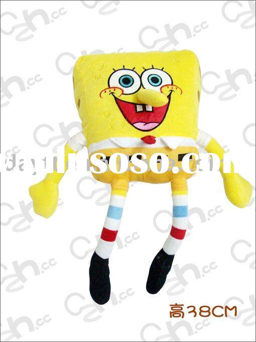 Wholesle gao hot sale SpongeBob plush figure doll toy for gift F0194