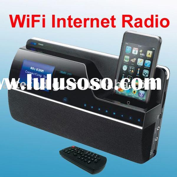 WiFi Internet Radio for 802.11 b/g wireless