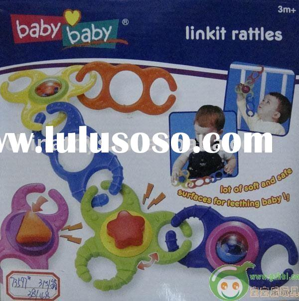 baby baby link it rattles/toy for kids/plastic toys/children toys