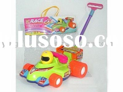 children push race car toy