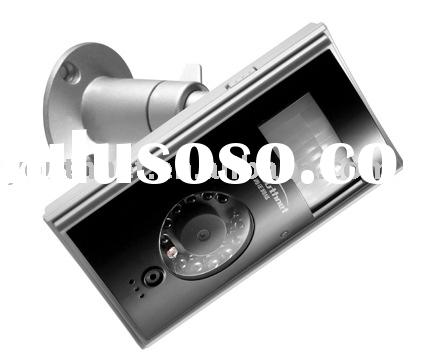 hidden camera surveillance, hidden home security camera (send MMS picture & SMS alert message to