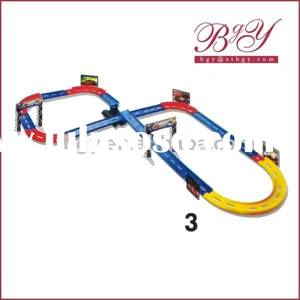 high speed race car slot car toy race tracks