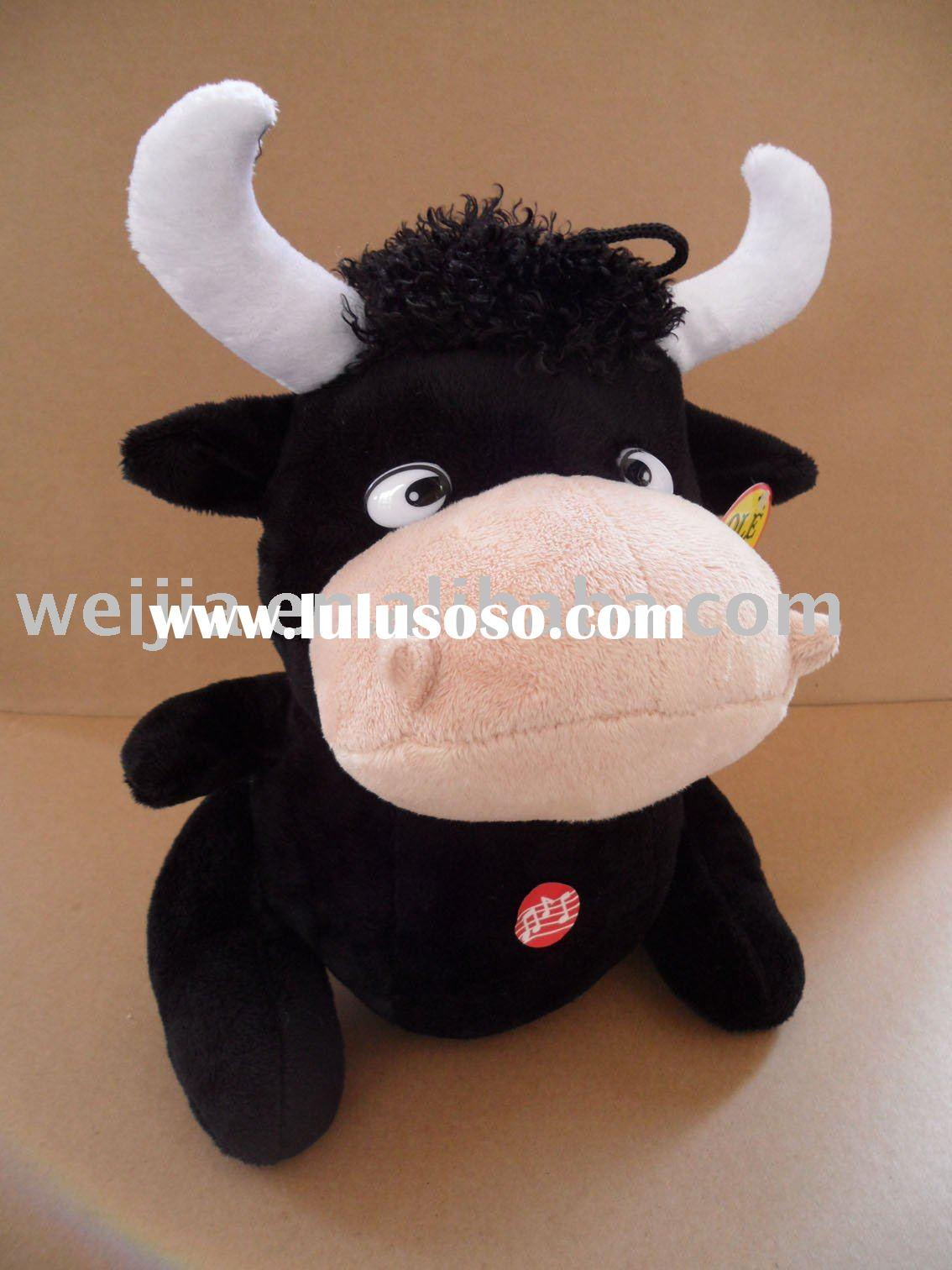 plush baby toy/stuffed baby toy/baby plush toy/plush cow