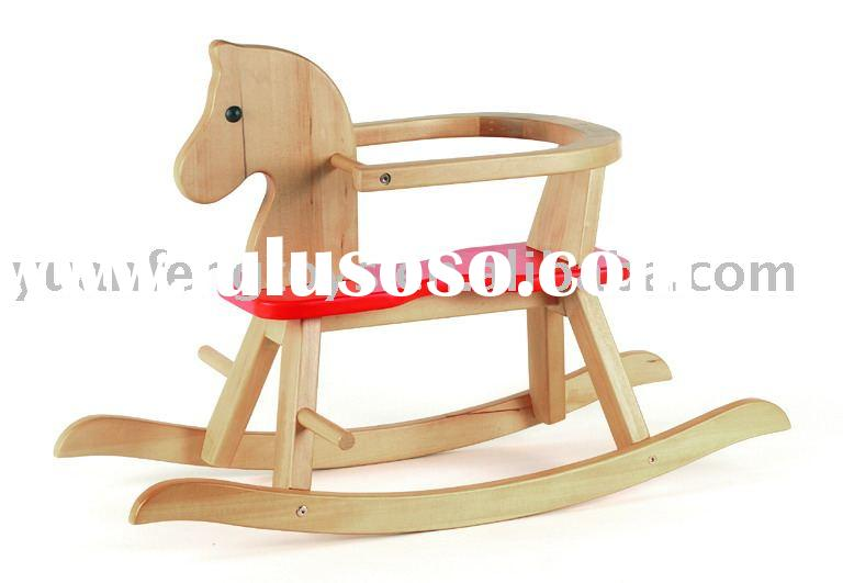 rocking horse&traditional wooden toys