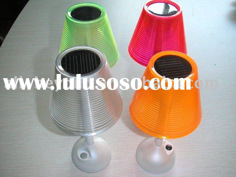 solar table light/solar reading lamp