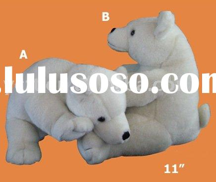stuffed polar bear,plush polar bear,plush toys,stuffed animals-08333