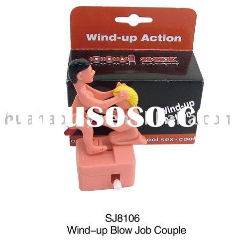 wind up blow job couple toys ... be one of the best sex toys ever (also designed by a couple in my city).