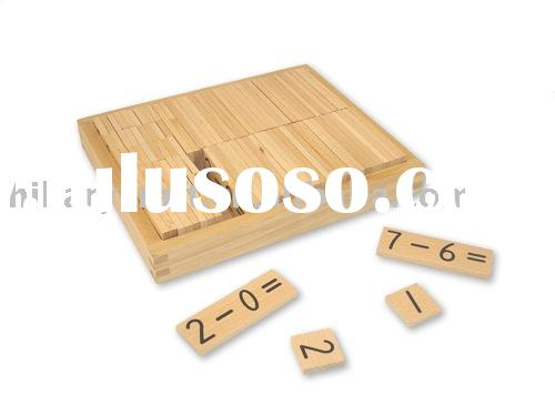 wooden math learing ,wooden educational toy ,wooden toy