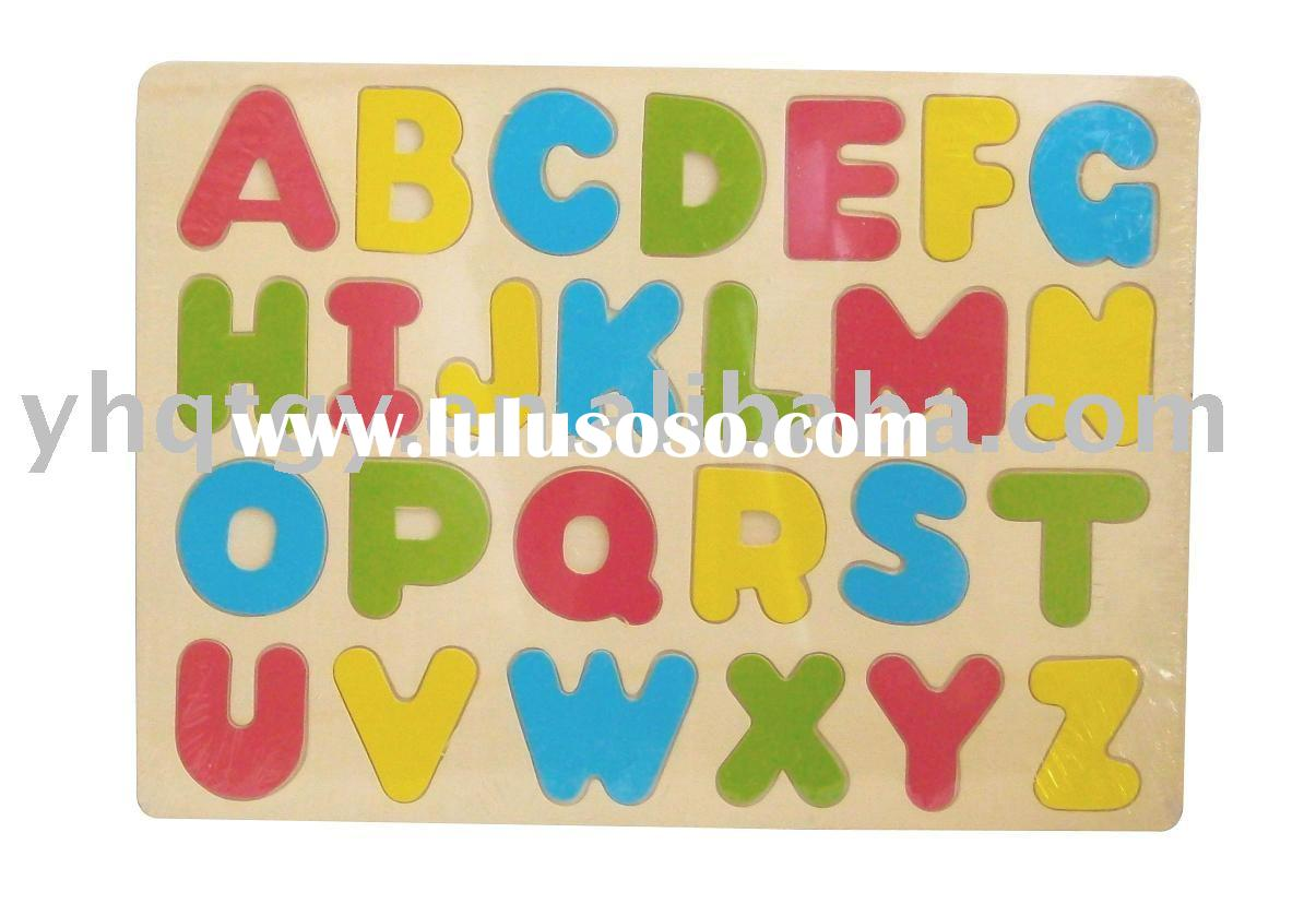wooden toy&wooden puzzle &wooden educational toy