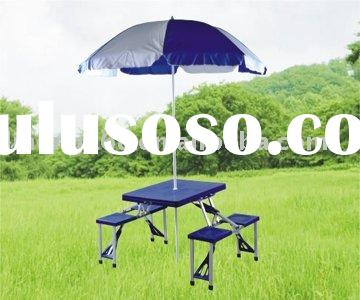 2010 plastic picnic folding table and chairs