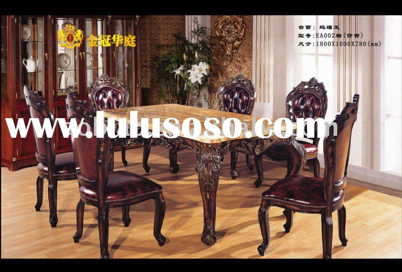 2011 New Design Solid Wood Dining Table and Chair