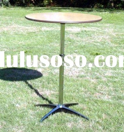 "36"" Round Plywood Bar Table"