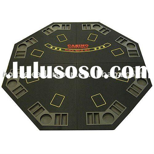 48'' 4-fold Octagon Felt Poker Table Top