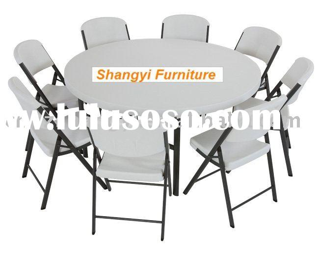 60*30  inch   banquet round folding table,outdoor table