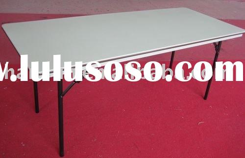 6 feet ABS plastic rectangular folding table