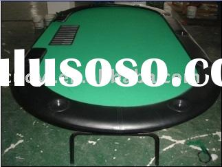"84"" Texas Hold em Poker Table w/ Folding Legs"