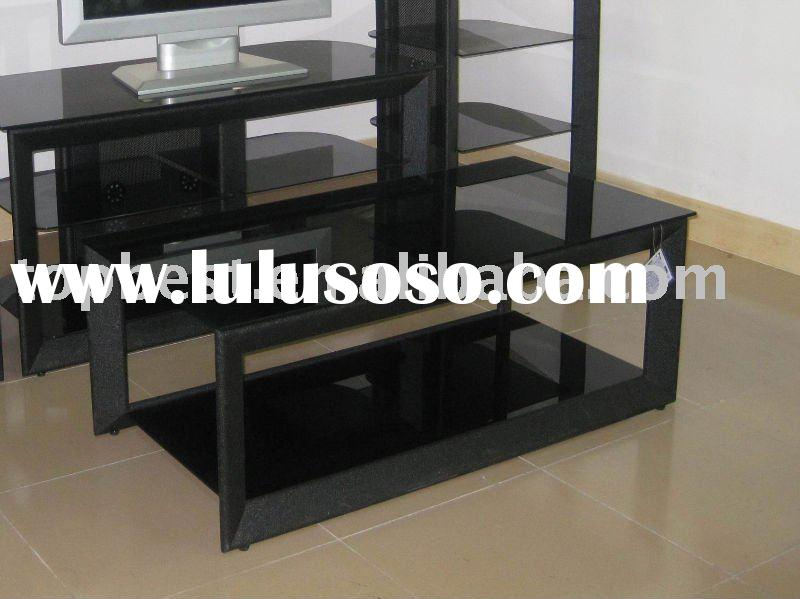 Brilliant  cheap glass top and metal tube two tier coffee table center table 800 x 599 · 54 kB · jpeg