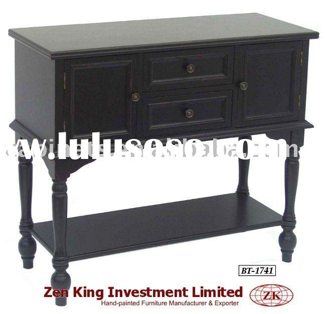 Country Style Wooden Console Table
