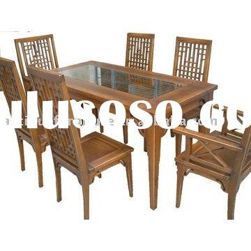 Dining Table And Chairs,Chinese Antique Reproduction Furniture