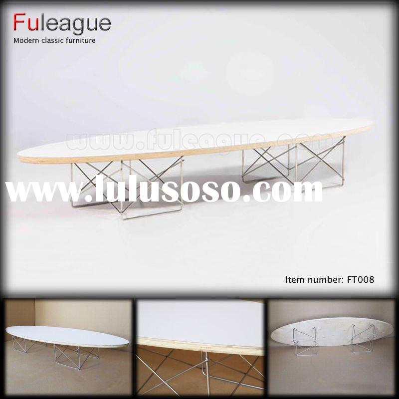 EAMES PLYWOOD COFFEE TABLE Ellipse Table by Charles Eames DESIGNER TABLE COFFEE TABLE LARGE COFFEE T