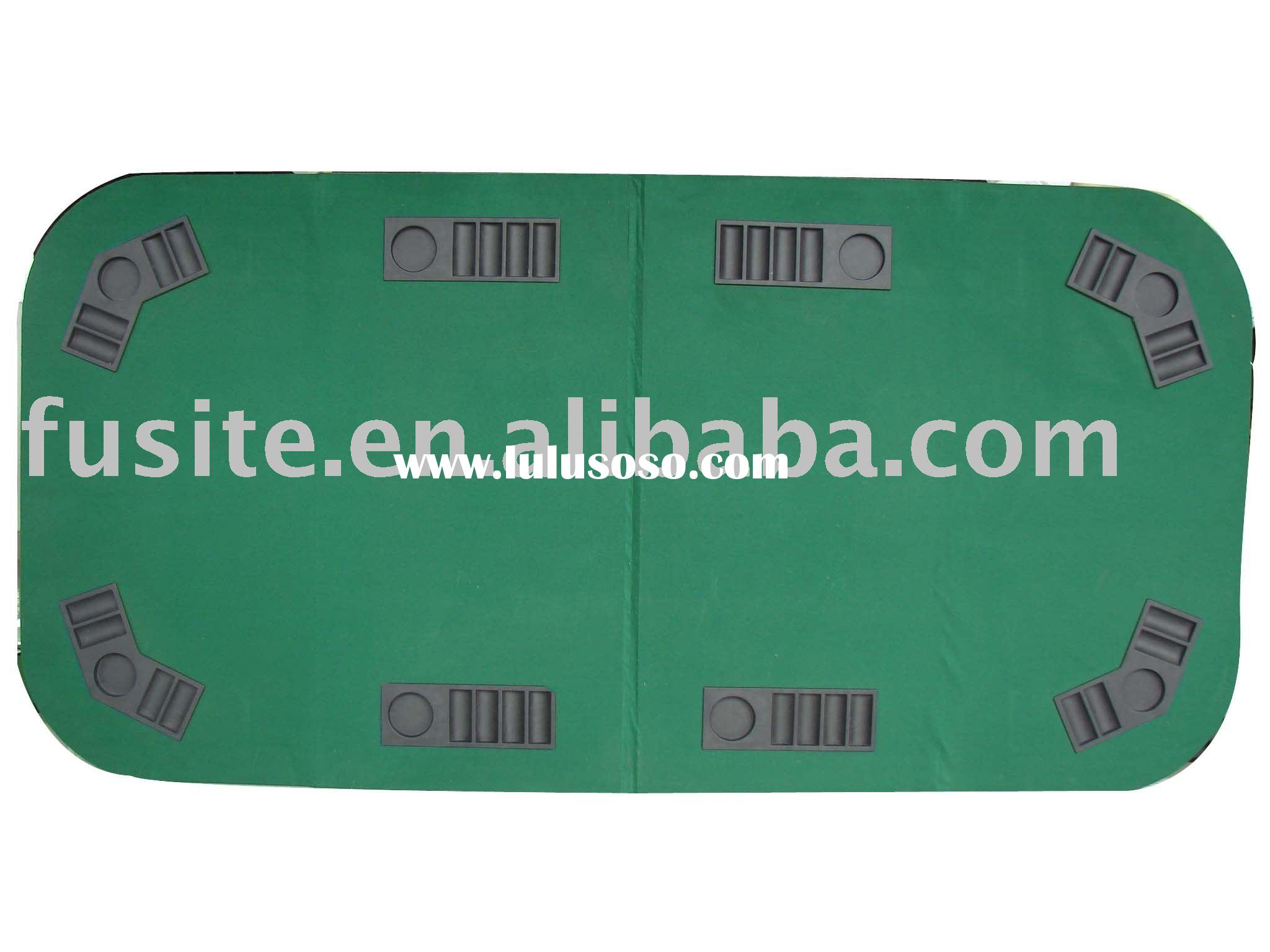 Foldable Casino Texas Holdem Poker Table Top