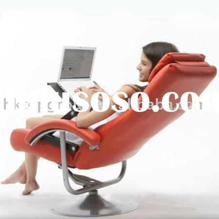 Folding furniture/ Ergonomic Laptop table used in bed/sofa