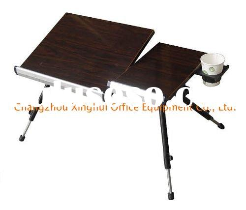 Folding portable laptop table computer desk