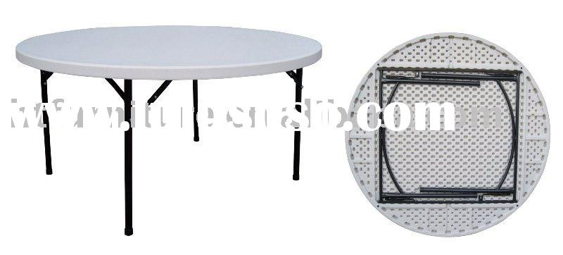 HT19TP-005 Round Folding Table