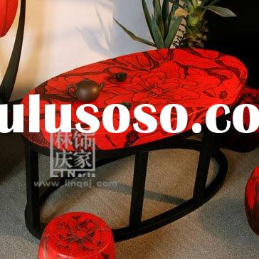 Handmade Oval Antique Coffee Table Set Q143-80