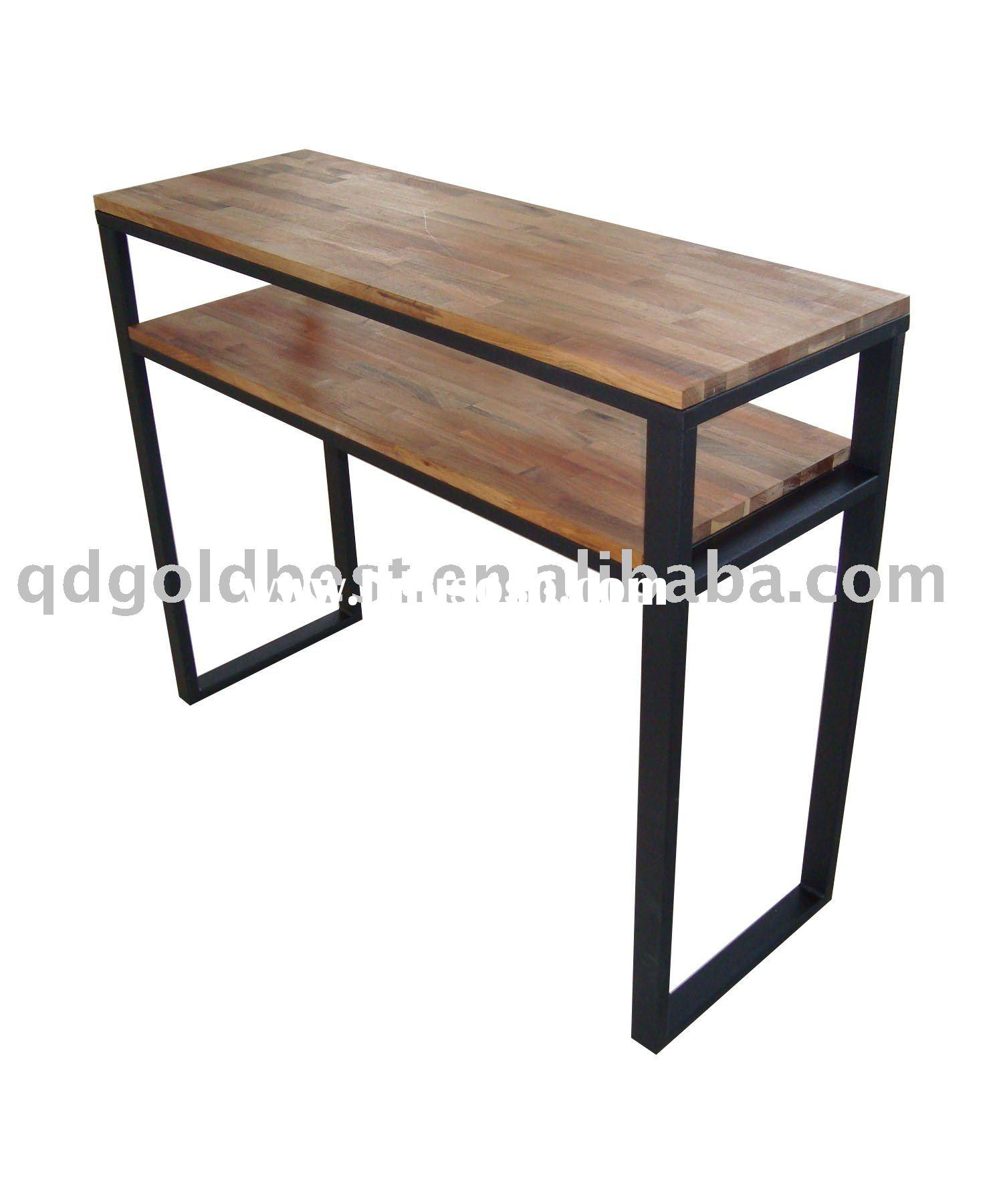 Folding Wall Table : Knockdownwoodywalltable from hahnconsultinggroup.com size 1500 x 1800 jpeg 126kB