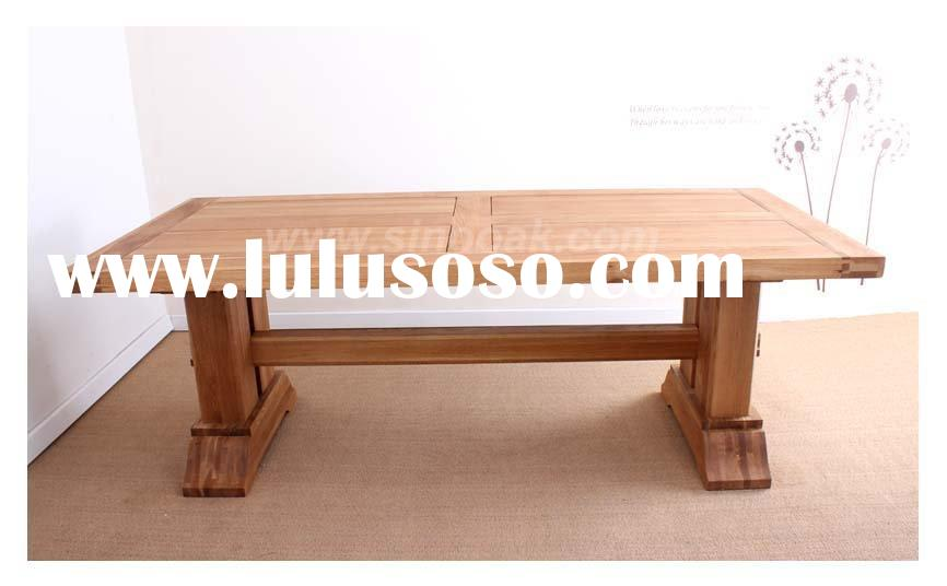 oak dining table plans