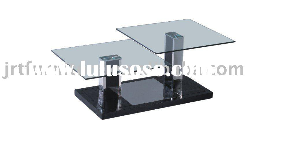Living Room Furniture Modern Glass Coffee Table