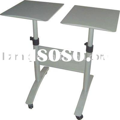 Mobile Height Adjustable Laptop Table