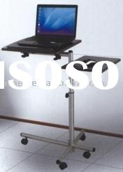 Mobile portable laptop table/lap desk/multifunction cart(L-07)