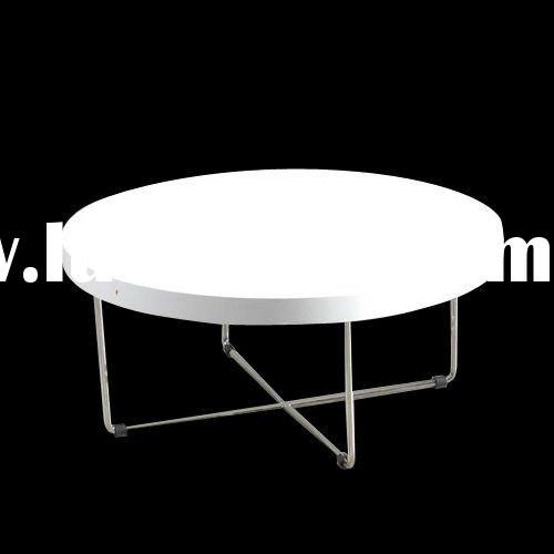 High Gloss White Coffee Table Round Angle Black Glass Top: White Modern Coffee Table, White Modern Coffee Table