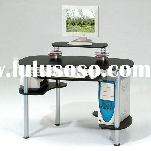 Modern glass Computer table (G-CT058)
