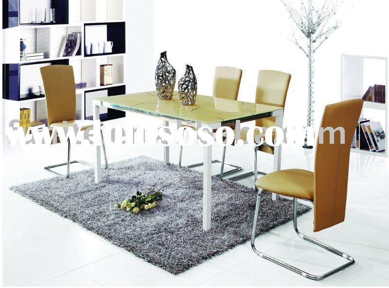 Modern  glass dining table Sets