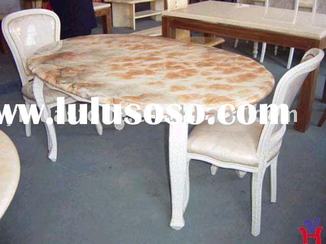 Nature Stone Marble Dining Table Top