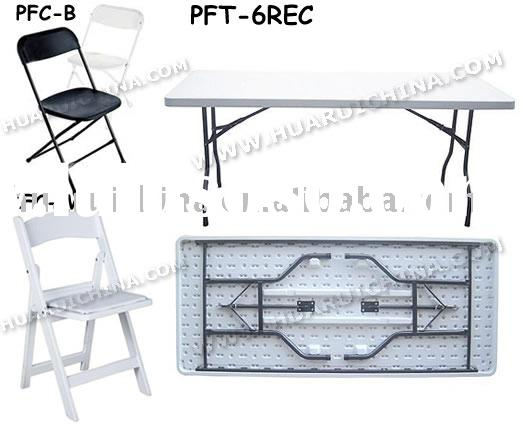 Plastic folding table,Plastic folding chair