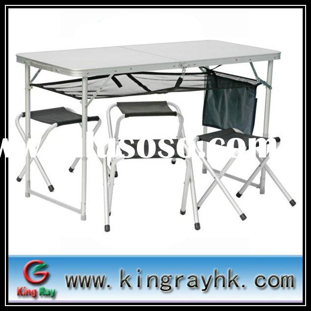 Popular kids folding table and chair