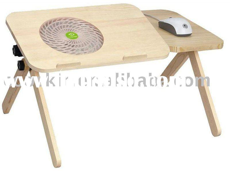 Portable Laptop Table With Fan Portable Laptop Table With