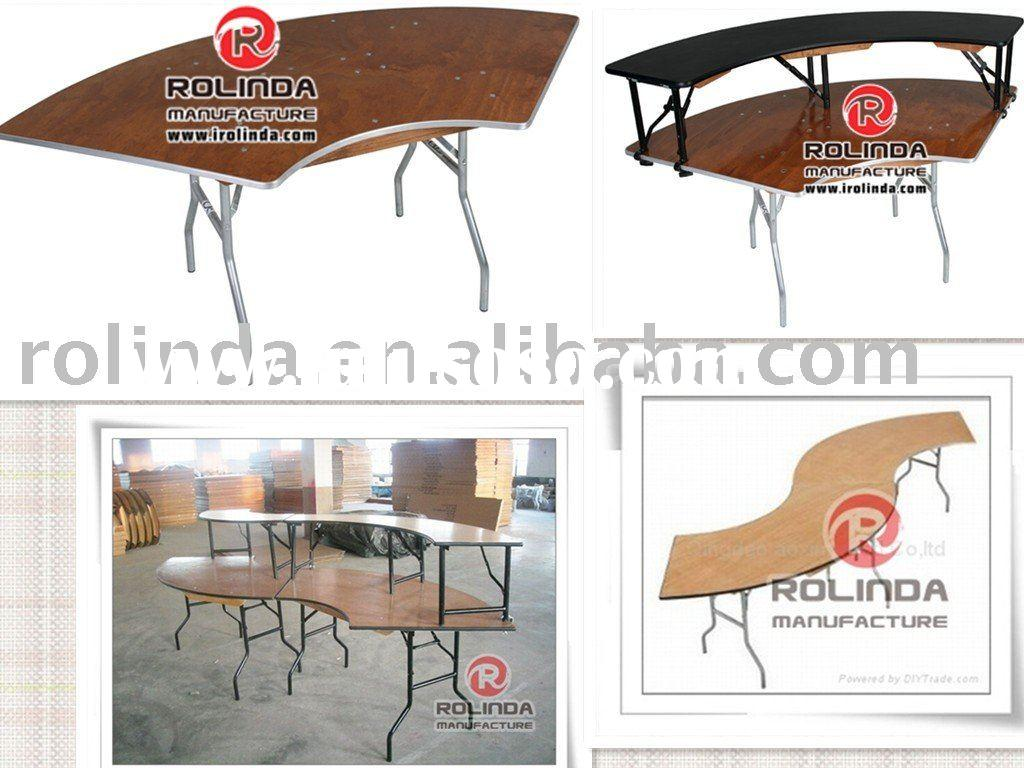 Rental Tables(round /rectangle/Serpentine folding)Table